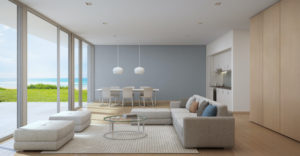 How to Bring the Beach into Your Townhouse Apartment